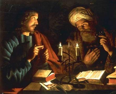Jesus-Nicodemus