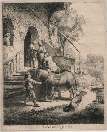 Rembrandt-Good Samaritan