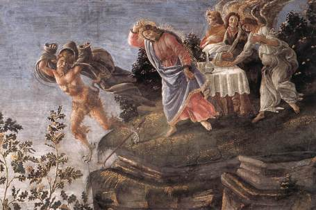 Temptation in Detail-Sandro_Botticelli