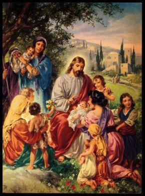 Hincke-Jesus Teaches Children