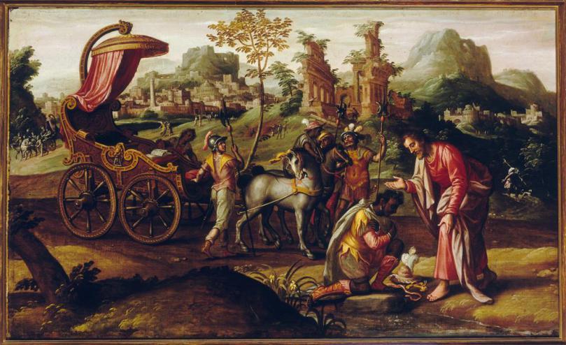 Philip+Baptizes+the+Eunuch